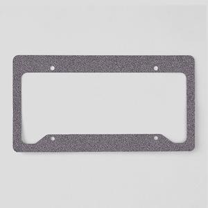 Gravel License Plate Holder
