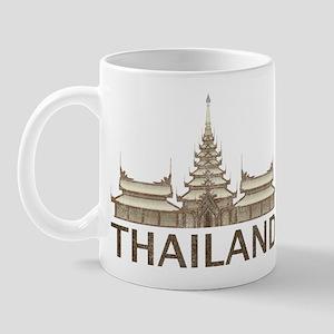Vintage Thailand Temple Mug