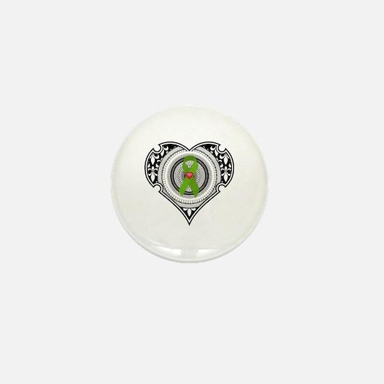 Kidney heart Mini Button (100 pack)