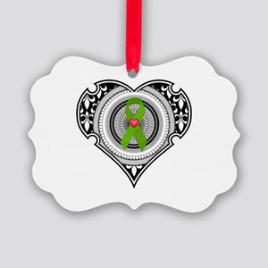Kidney heart Picture Ornament