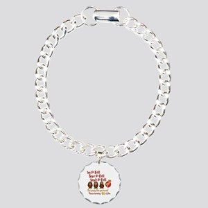 Turning 40 Is Fun Charm Bracelet, One Charm