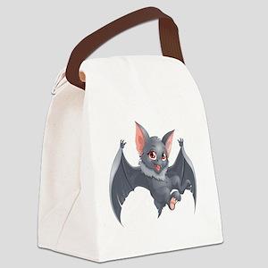 bat Canvas Lunch Bag