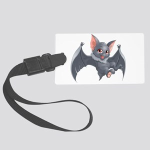 bat Large Luggage Tag