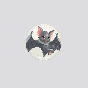 bat Mini Button