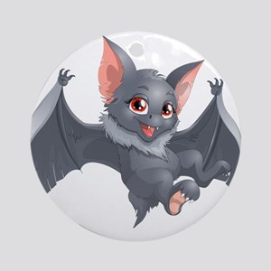 bat Round Ornament