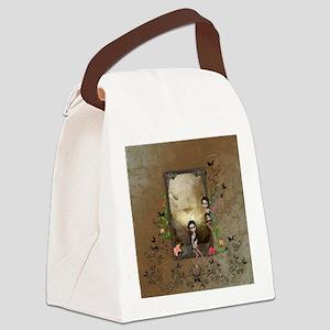 Cute little fairy Canvas Lunch Bag