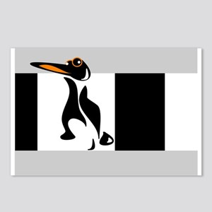 """""""One Penguin"""" Postcards (Package of 8)"""