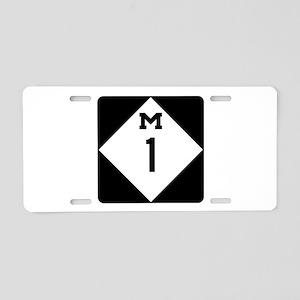 Woodward Avenue Route Shiel Aluminum License Plate