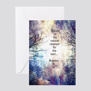 Natural Cleanser Greeting Card