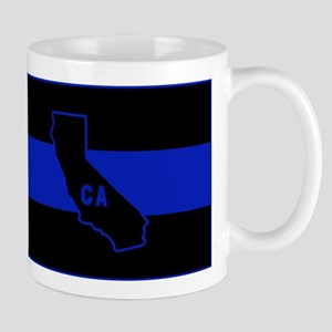 Thin Blue Line - California Mugs