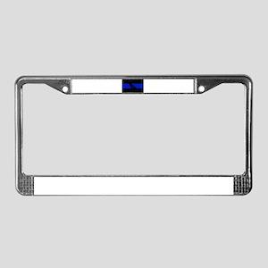 Thin Blue Line - California License Plate Frame