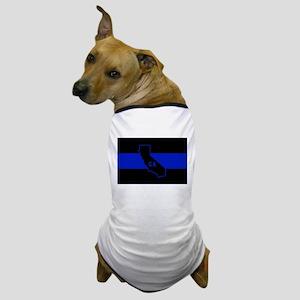 Thin Blue Line - California Dog T-Shirt