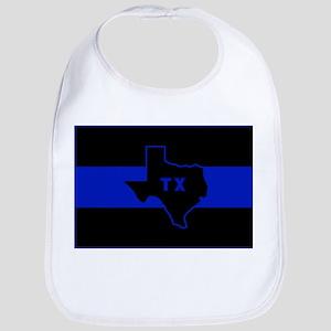 Thin Blue Line - Texas Bib