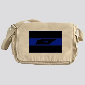 Thin Blue Line - Tennessee Messenger Bag