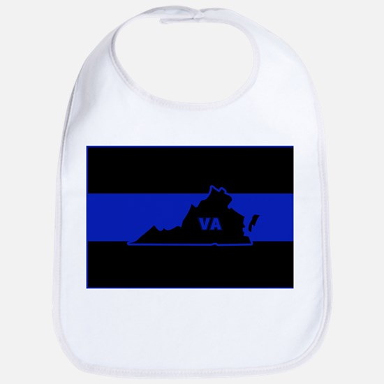 Thin Blue Line - Virginia Bib