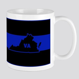Thin Blue Line - Virginia Mugs