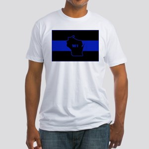 Thin Blue Line - Wisconsin T-Shirt