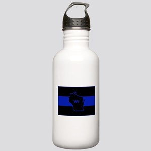 Thin Blue Line - Wisco Stainless Water Bottle 1.0L