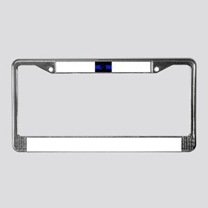 Thin Blue Line - Wisconsin License Plate Frame