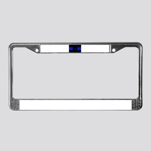 Thin Blue Line - Ohio License Plate Frame