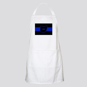 Thin Blue Line - Ohio Apron