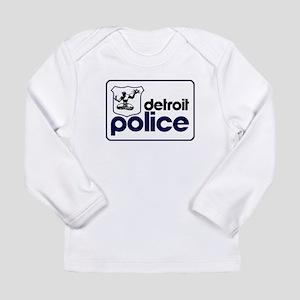 Old Detroit Police Logo Long Sleeve T-Shirt