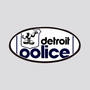 Old Detroit Police Logo Patch