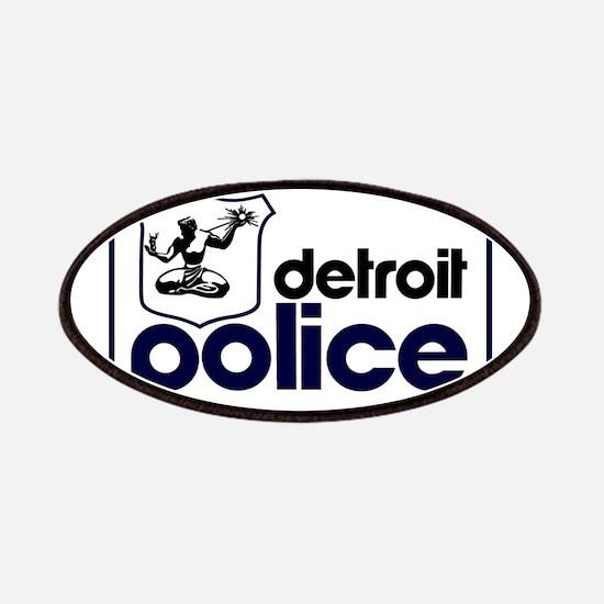 Old Detroit Police Logo Patch
