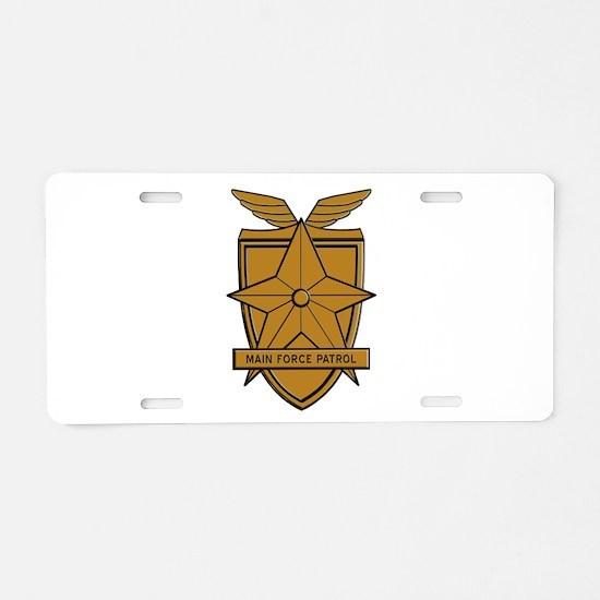 Mad Max MFP Badge Aluminum License Plate