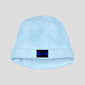Thin Blue Line - North Carolina baby hat