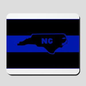 Thin Blue Line - North Carolina Mousepad