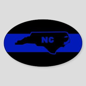 Thin Blue Line - North Carolina Sticker