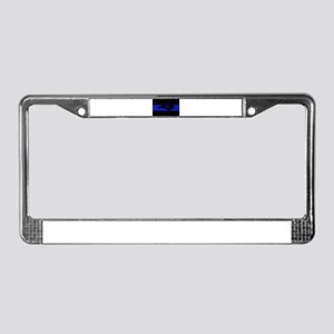 Thin Blue Line - North Carolin License Plate Frame
