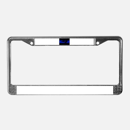 Thin Blue Line - North Carolin License Plate Frame