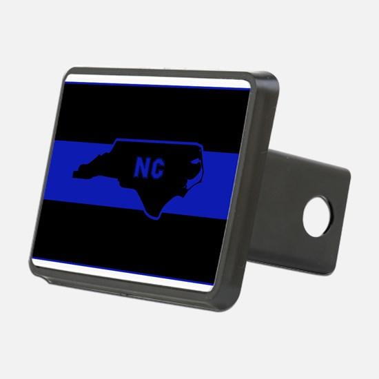 Thin Blue Line - North Car Hitch Cover