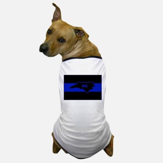 Thin Blue Line - North Carolina Dog T-Shirt