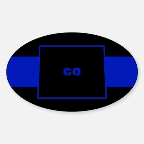 Thin Blue Line - Colorado Decal