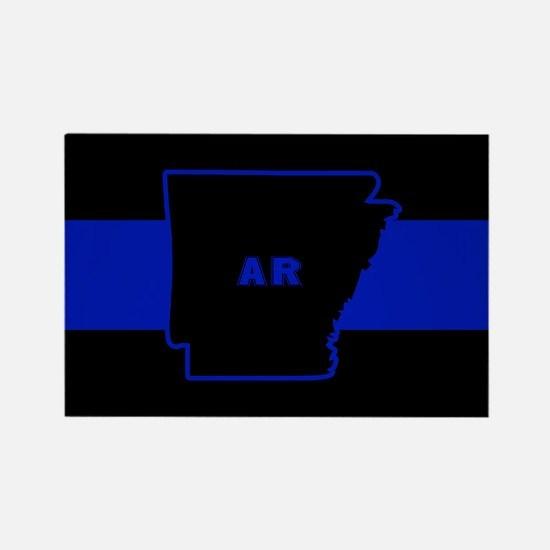 Thin Blue Line - Arkansas Magnets