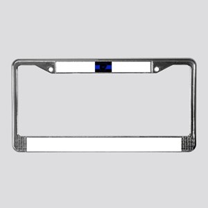 Thin Blue Line - Arkansas License Plate Frame