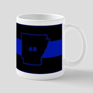 Thin Blue Line - Arkansas Mugs