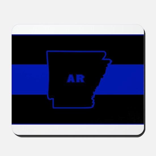 Thin Blue Line - Arkansas Mousepad