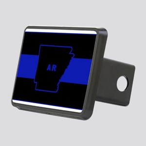 Thin Blue Line - Arkansas Rectangular Hitch Cover