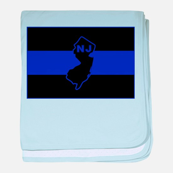 Thin Blue Line - New Jersey baby blanket