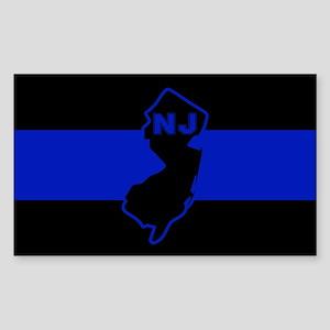 Thin Blue Line - New Jersey Sticker