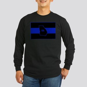 Thin Blue Line - Georgia Long Sleeve T-Shirt
