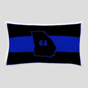 Thin Blue Line - Georgia Pillow Case