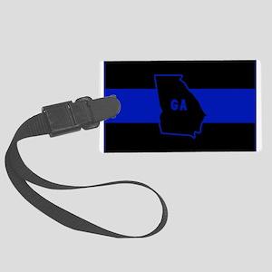 Thin Blue Line - Georgia Large Luggage Tag