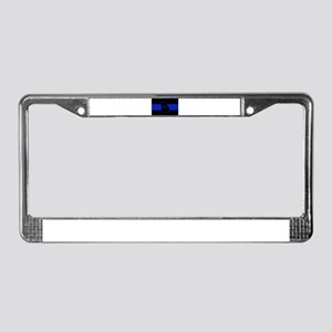 Thin Blue Line - Georgia License Plate Frame
