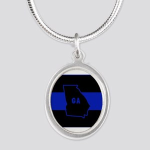 Thin Blue Line - Georgia Necklaces