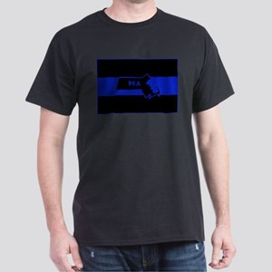 Thin Blue Line - Massachusetts T-Shirt